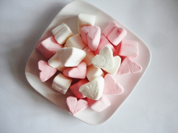 marshmalow hearts