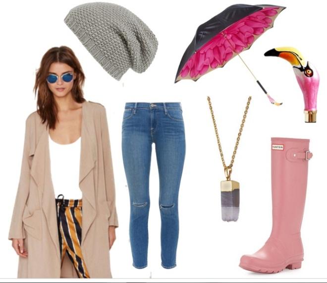 pink autumn fashion