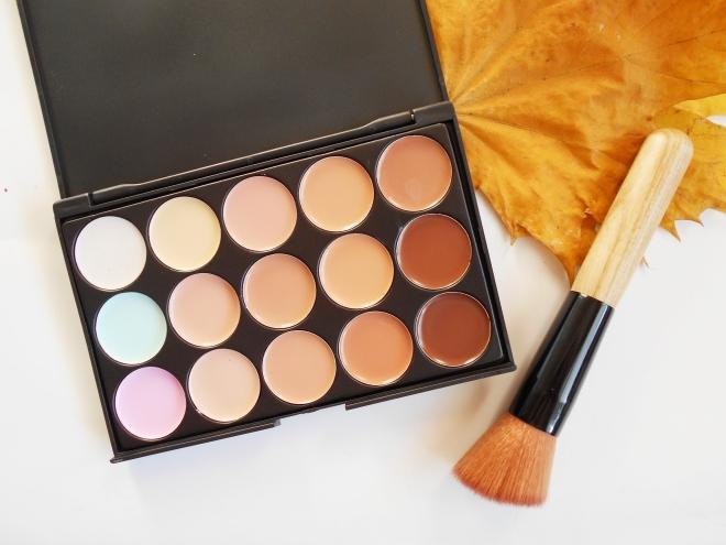 ebay cream contour palette review