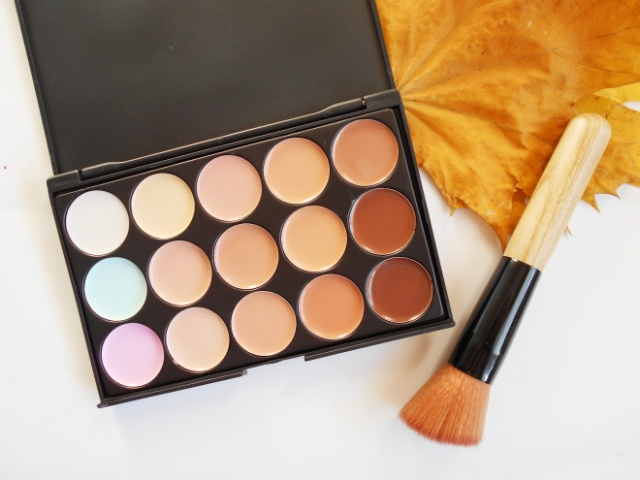 ebay cream contour palette review