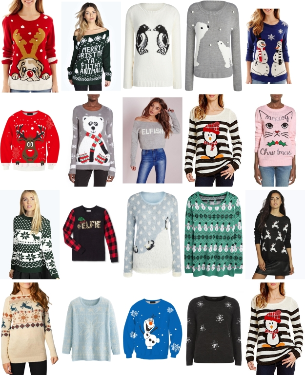 best favorite cute ugly christmas sweaters
