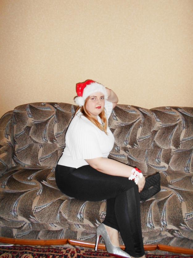 plus size festive outfit