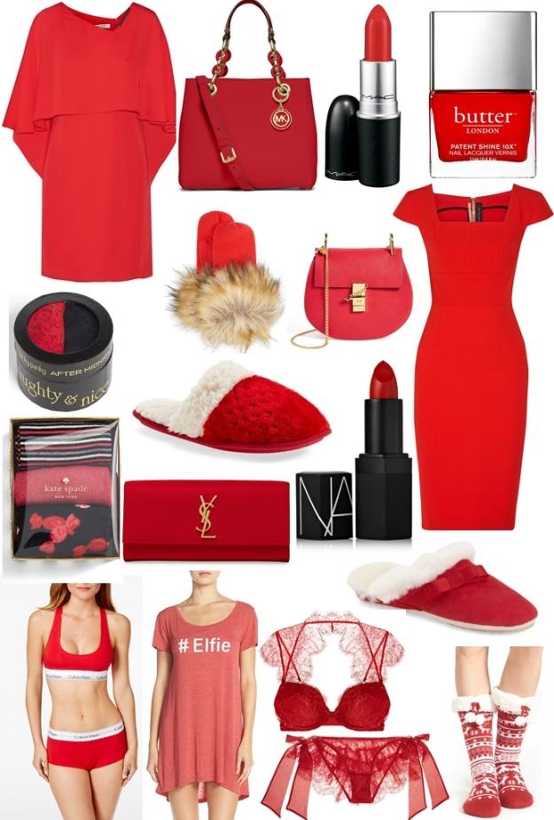 festive reds