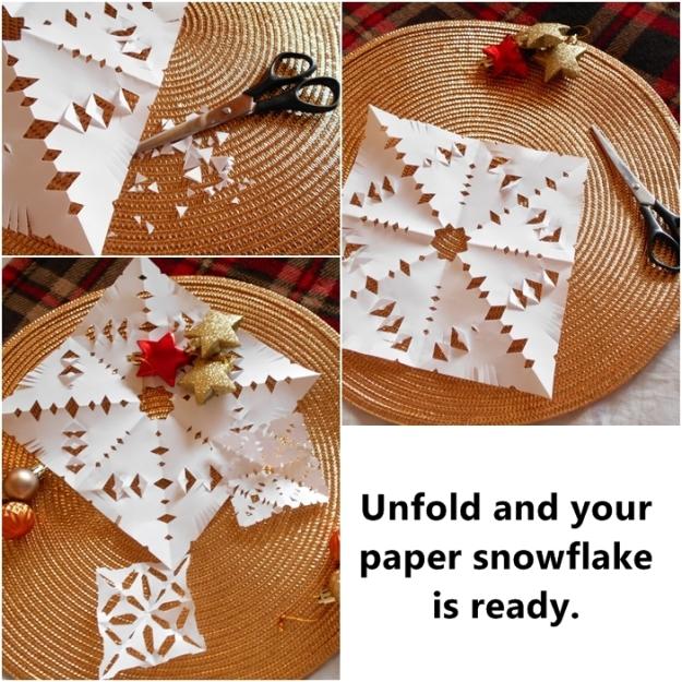 paper snowflake DIY 2
