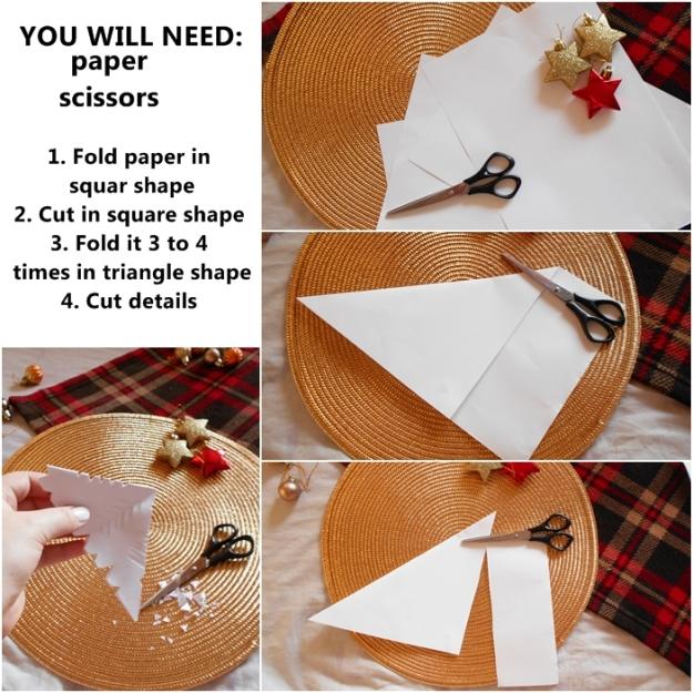 paper snowflake DIY