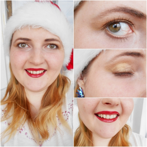 festive christmas make up