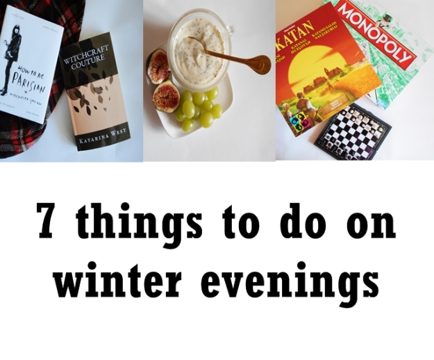 things to do on winter evenings