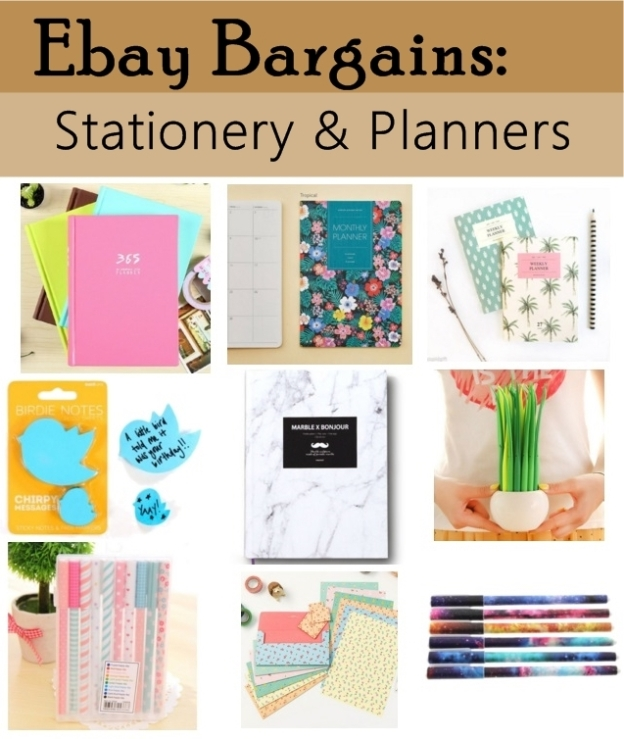 cute stationery and planners