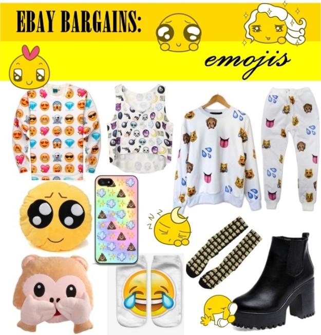ebay bargains emoji trend | anitasdiaries